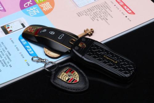 Micro Telefon Gsm Ve Tvaru Kl 237 čenky Porsche Cayenne Dual